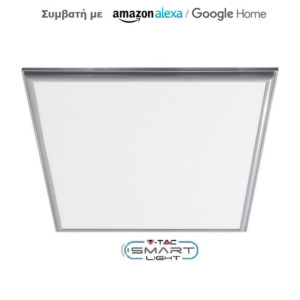 Wifi Dimmable Led Smart Panel 40W 3 σε 1 συμβατό με Amazon Alexa & Google Home V-TAC SKU 8080