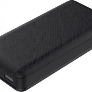 Powerbank 20000mAh με Οθόνη και 2 Θύρες USB Μαύρο Σώμα V-TAC 8190
