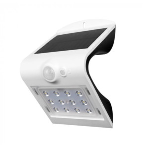 LED Ηλιακό Φωτιστικό 1.5 W Sensor Στεγανό IP65 Λευκό V-TAC 8276