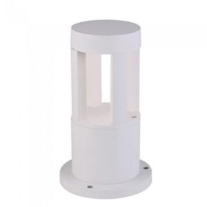 Φωτιστικό Κήπου Δαπέδου V-Tac 8316 Λευκό με Θερμό Λευκό 3000Κ 10W