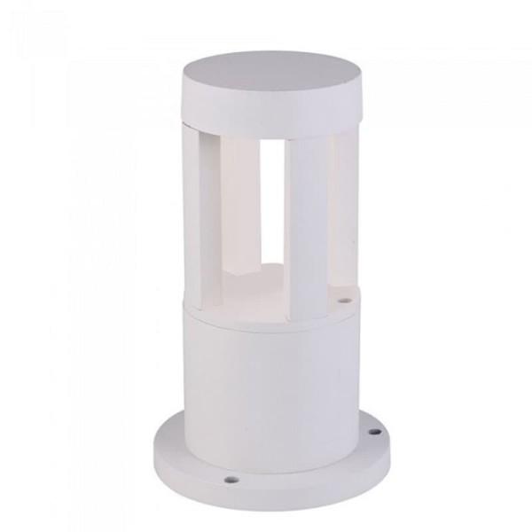 Φωτιστικό Κήπου Δαπέδου V-Tac 8318 Λευκό με Ψυχρό Λευκό 6400Κ 10W
