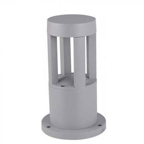 Φωτιστικό Κήπου Δαπέδου V-Tac 8321 Γκρι με Ψυχρό Λευκό 6400Κ 10W