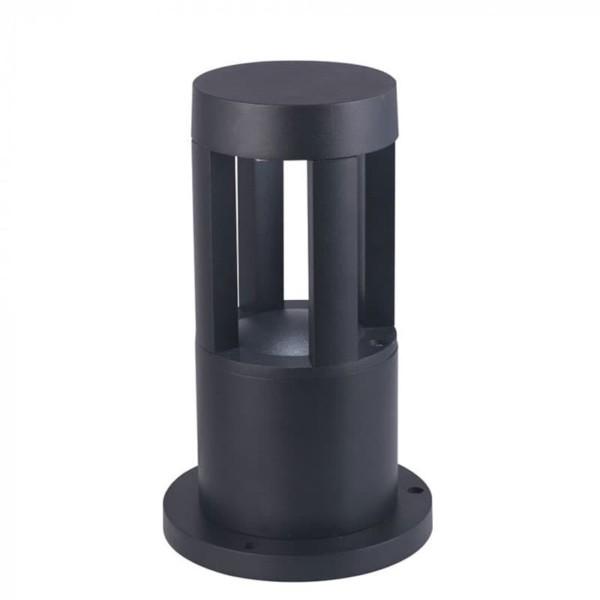 Φωτιστικό Κήπου Δαπέδου V-Tac 8322 Μαύρο με Θερμό Λευκό 3000Κ 10W