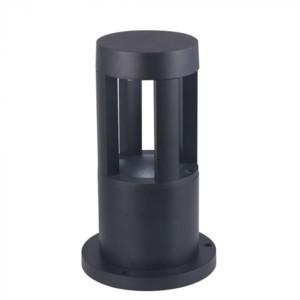 Φωτιστικό Κήπου Δαπέδου V-Tac 8324 Μαύρο με Ψυχρό Λευκό 6400Κ 10W