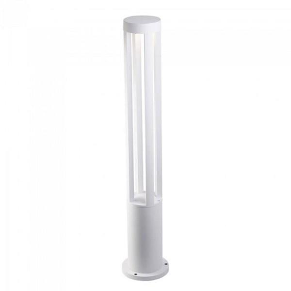 Φωτιστικό Κήπου Δαπέδου V-Tac 8326 Λευκό με Ουδέτερο Λευκό 4000K 10W 80cm