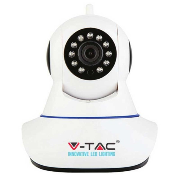 Camera WiFi IP V-Tac 8377 με αμφίδρομο ήχο εσωτερικού χώρου 720p