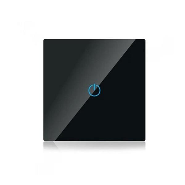 Διακόπτης Αφής Μονός Μαύρος V-TAC SKU: 8385