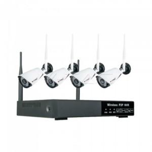 Σετ WiFi με 4 Κάμερες εσωτερικού χώρου 1080p NVR V-TAC 8400