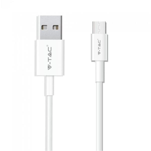 Καλώδιο Type C USB 1M Σειρά Pearl 1.0A Λευκό V-Tac 8482
