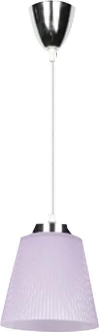 Κρεμαστό Φωτιστικό Μεταλλικό-Μωβ Καπέλο V-TAC 8504