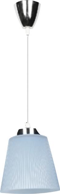 Κρεμαστό Φωτιστικό Μεταλλικό-Μπλε Καπέλο V-TAC 8506