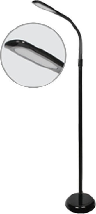 Φωτιστικό Δαπέδου LED 7W Μεταλλικό Μαύρο V-TAC 8508