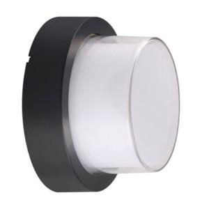 Απλίκα LED Στεγανή IP65 Πλαστική 12W 900 lms Μαύρη 3000K Θερμό Λευκό V-Tac 8541