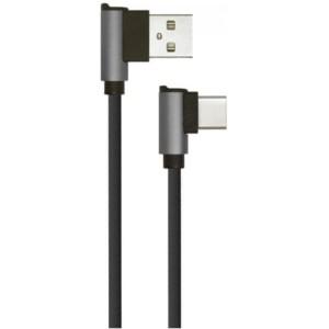 Καλώδιο Type C USB Diamond Series 1M 2.4A Μαύρο V-Tac 8638