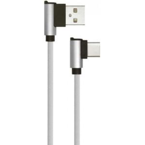 Καλώδιο Type C USB Diamond Series 1M 2.4A Γκρί V-Tac 8639