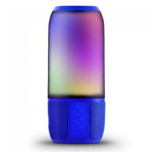Ασύρματο Ηχείο LED με Bluetooth 2x3W V-Tac 8571 Μπλε για USB και SD Κάρτα
