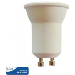 Λάμπα LED GU10 MR11 220V 38° 2W Samsung Chip 6400K-Ψυχρό Λευκό V-TAC 871