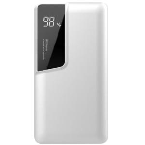 Powerbank 10000mAh Λευκό Σώμα Dual Input USB& Type C V-TAC 8870