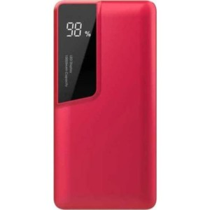 Powerbank 10000mAh Κόκκινο Σώμα Dual Input USB& Type C V-TAC 8871