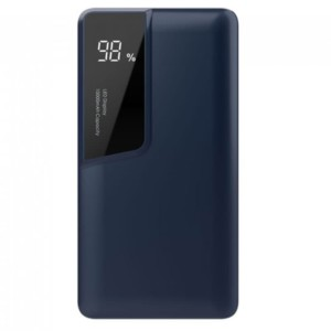 Powerbank 10000mAh Μπλε Σώμα Dual Input USB& Type C V-TAC 8872