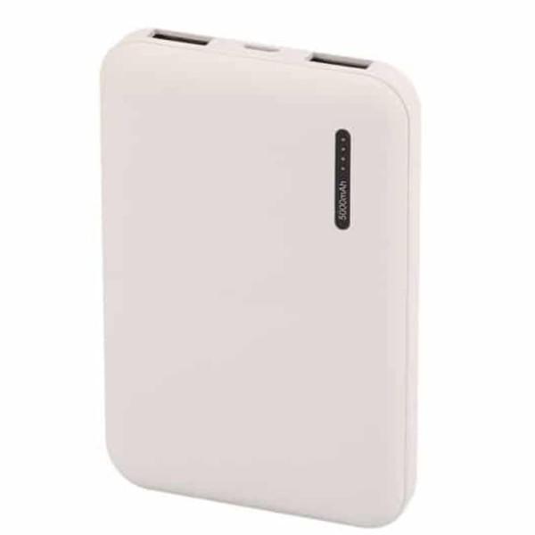 Super Small Powerbank 5000mAh Λευκό Micro USB V-TAC 8893