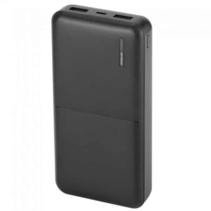 Mega Powerbank 20000mAh Μαύρο Micro 2 Θύρες USB V-TAC 8903