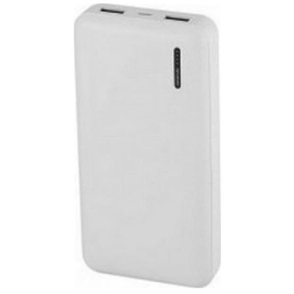 Mega Powerbank 20000mAh Λευκό Micro 2 Θύρες USB V-TAC 8904