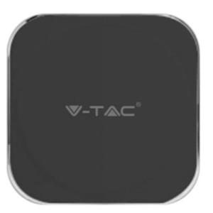 Ασύρματος Φορτιστής 10W για Powerbank Μαύρο V-TAC 8911