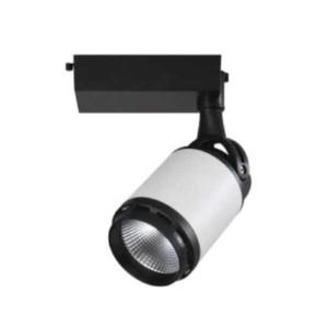 Cob Track Light 25W 6400K 1337 Λευκό-Μαύρο