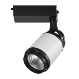 Cob Track Light 35W 3000K 1338 Λευκό-Μαύρο