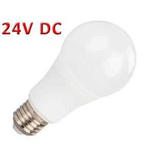 Λάμπα LED A60 6W 24V AC/DC E27