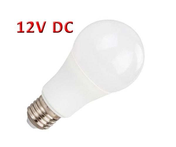 Λάμπα LED A60 10W 12V AC/DC E27
