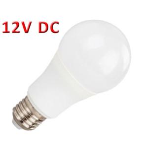 Λάμπα LED A60 6W 12V DC E27