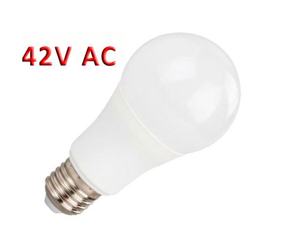 2601030-145-Λάμπα LED A60 6W 42V AC E27