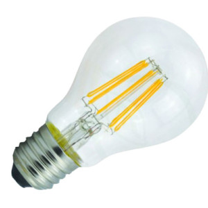 Λάμπα LED Filament Νήματος Vintage Κοινή Α60 8W