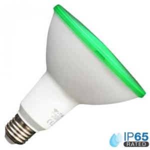 30503615/G-327-Λάμπα LED PAR 38 15W Πράσινο E27 220-240V 4418