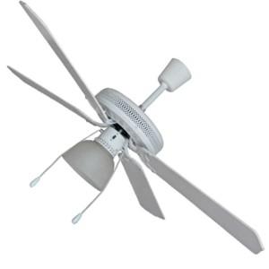 """Ανεμιστήρας Οροφής Πολυτελείας IQ CF-521 52"""" 60W 1-Φώς Λευκός"""