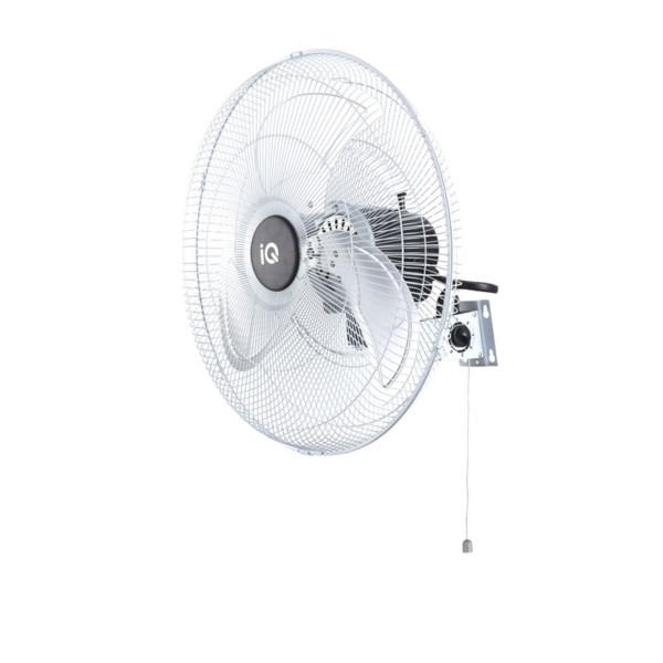 Ανεμιστήρας Τοίχου Μεταλλικός Χωρίς Τηλεχειριστήριο Επαγγελματικός IQ MWF-18 45cm 100w Λευκός