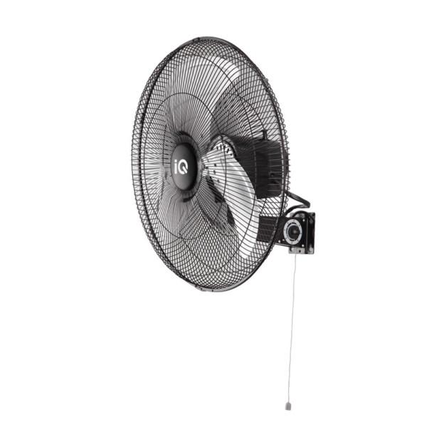Ανεμιστήρας Τοίχου Μεταλλικός Χωρίς Τηλεχειριστήριο Επαγγελματικός IQ MWF-18 45cm 100w Μαύρος