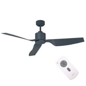 3610231-485-Air Climate II Charcoal Ανεμιστήρας Οροφής με Τηλεχειριστήριο και Προαιρετικό Φώς