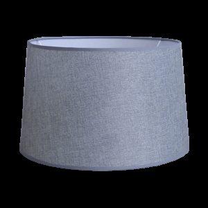 490-14-0096-Καπέλο/Αμπαζούρ ΓΚΡΙ ΣΚΟΥΡΟ Φ40 14-0096