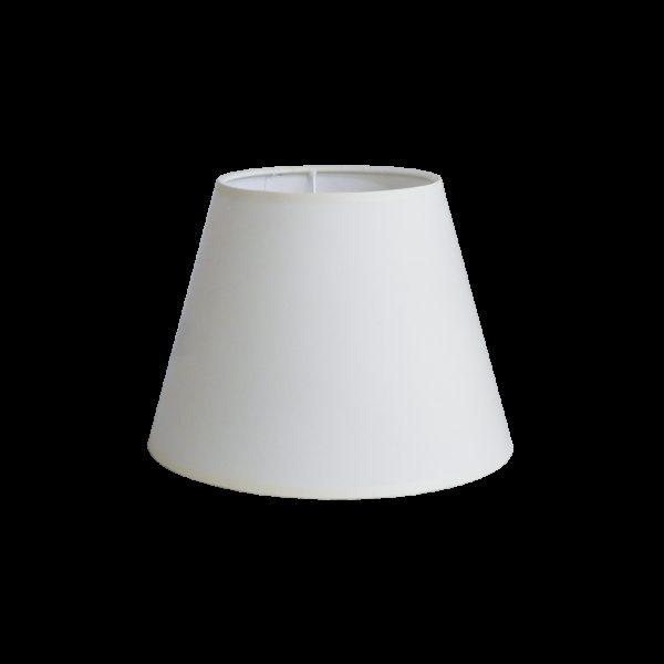 490-14-0098-Καπέλο/Αμπαζούρ ΕΚΡΟΥ Φ25 14-0098