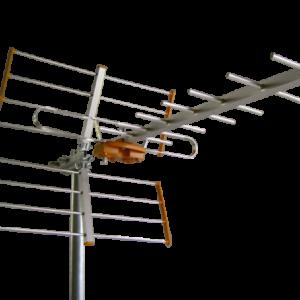 ΚΕΡΑΙΑ Aνοικτού Διπόλου PRISMA UHF-16 ΣΤΟΙΧΕΙΩΝ Yagi