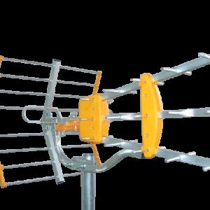 ΚΕΡΑΙΑ Aνοικτού Διπόλου PRISMA UHF-34 ΣΤΟΙΧΕΙΩΝ ΤΥΠΟΥ YAGI