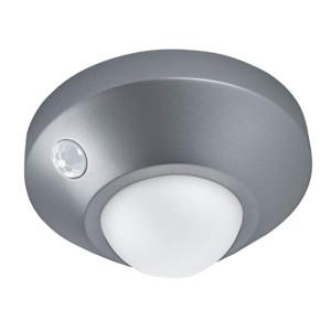 NIGHTLUX OSRAM-LEDVANCE Ceiling Silver Φωτιστικό με Ανιχνευτή