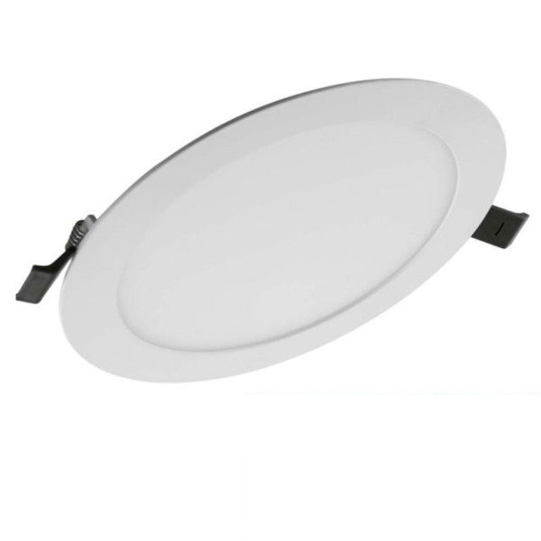 Πάνελ SLIM ALU OSRAM LEDVANCE 22W Στρογγυλό Χωνευτό Λευκό 3000K Θερμό Λευκό