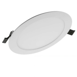 Πάνελ SLIM ALU OSRAM LEDVANCE 22W Στρογγυλό Χωνευτό Λευκό 4000K Ουδέτερο Λευκό