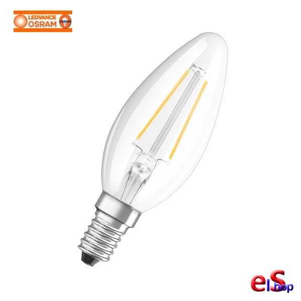 4058075819672-458-PARATHOM Retrofit Filament CLASSIC Β Value Κερί 4W Διαφανής OSRAM - LEDVANCE