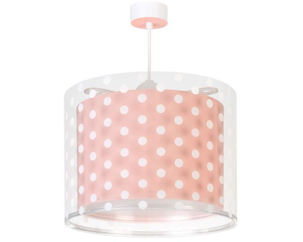 Ango 41002 S - Dots Pink κρεμαστό παιδικό φωτιστικό οροφής μεγάλο σε μέγεθος