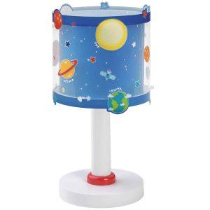 Ango 41341 - Planets κομοδίνου παιδικό φωτιστικό διπλού τοιχώματος